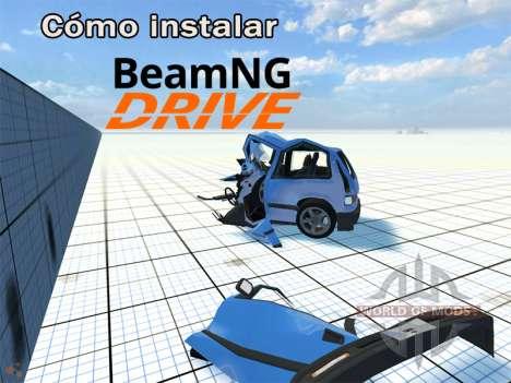Instrucciones de instalación BeamNG Drive