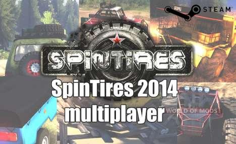 Juego en la red en SpinTires 2014