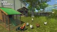 Captura de pantalla de la gallina de farming Simulator 2013