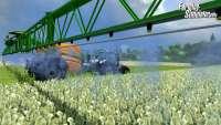 Gran captura de pantalla del juego farming Simulator 2013