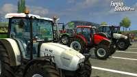 Tractores de farming Simulator 2013 - una imagen del juego