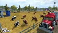 La vaca farming Simulator 2013 - captura de pantalla del juego
