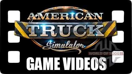 American Truck Simulator - Spiele videos