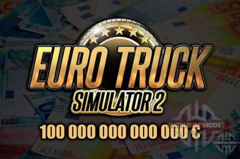 Descargar Euro Truck Simulator 2 mod dinero