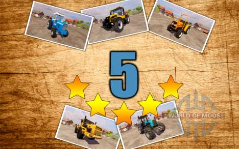 Los 5 mejores tractores para farming Simulator 2013
