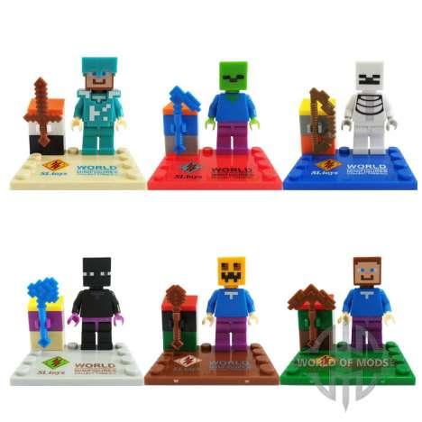 Chino Minecraft juguetes