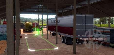 Cisne parkplatz dans American Truck Simulator