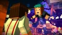 Los personajes en Mincraft historia de la mod