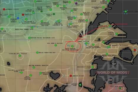el Poder de la armadura de X-01 en el Sur de Boston puesto de control Militar