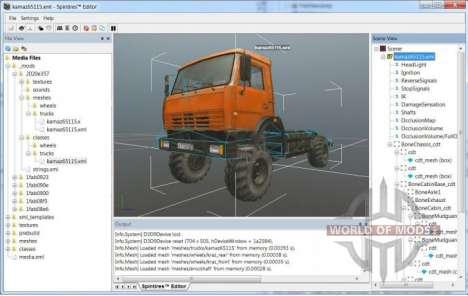 Camión modelo con modificaciones mínimas
