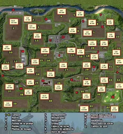 Herraduras Mapa de Farming Simulator 2013
