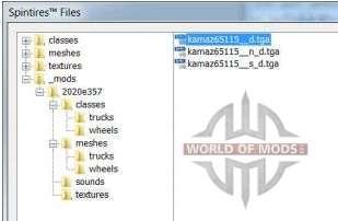 Spintires Editor explorador de archivos