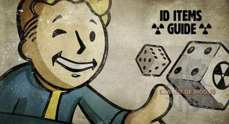 IDENTIFICACIÓN de elementos de Fallout 4