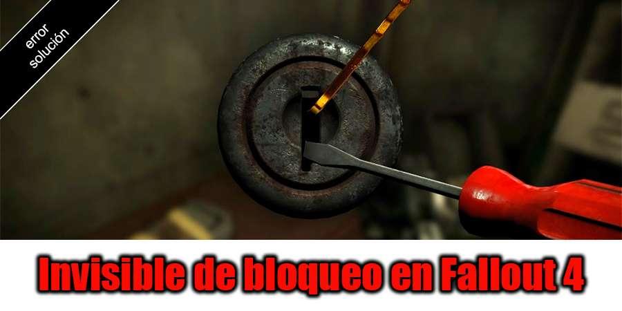 Invisible lock en Fallout 4 - la solución