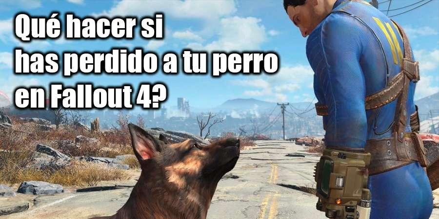 la Falta Dogmeat en Fallout 4