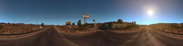 American Truck Simulator - desierto panorama