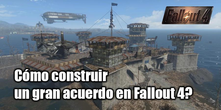 Cómo construir una casa en Fallout 4