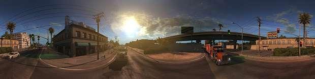 American Truck Simulator - panorama de la ciudad