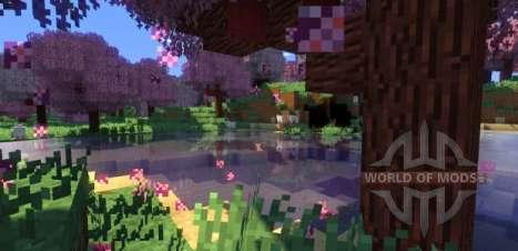la Vida en los Bosques mod para Minecraft