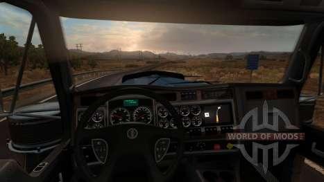 Kenworth W900 - interior