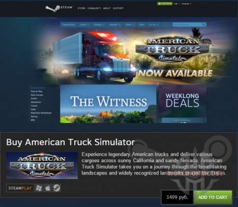 American Truck Simulator está disponible!