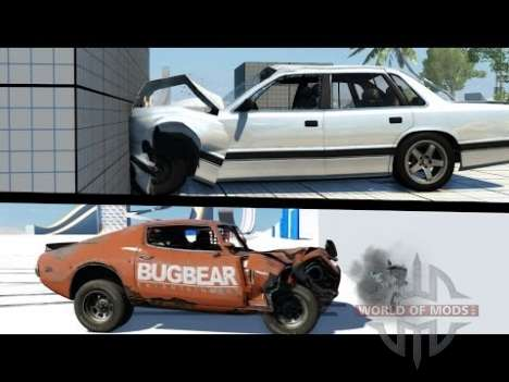BeamNG Drive vs Next Car Game