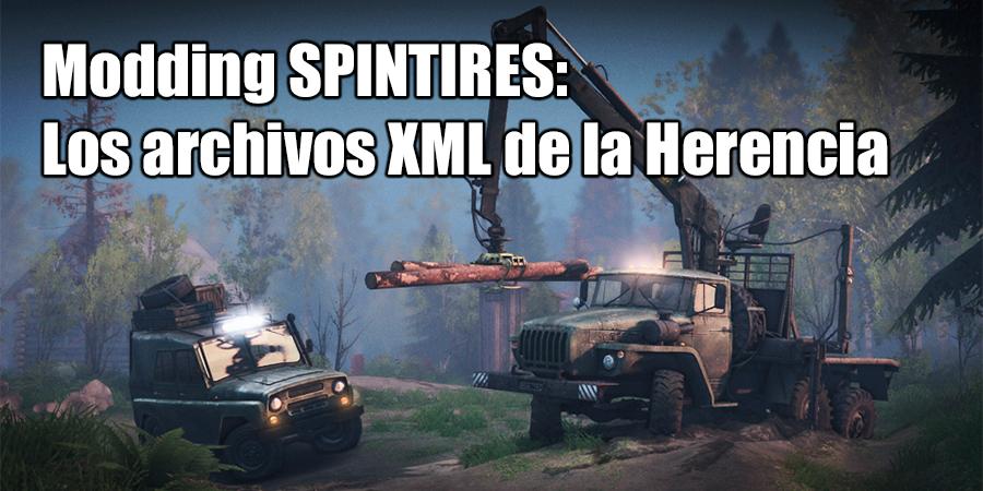 SpinTires archivos XML de Herencia
