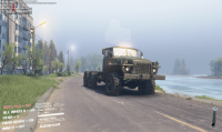Ural 375 - vista a la playa
