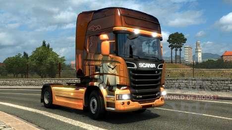 DLC húngaro y turco paintjobs para Euro Truck Simulator 2