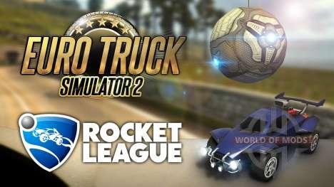 Cross-promo de Euro Truck Simulator 2 y Rocket League