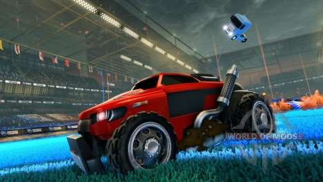 ETS 2 Antena para Rocket League