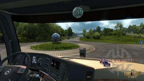 Bola y gasolina de coche para ETS 2