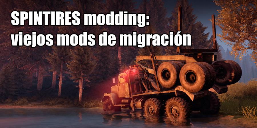 la Migración de los antiguos mods