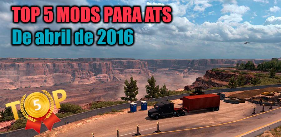 TOP 5 mods para American Truck Simulator