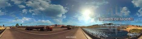 el Río Colorado cerca de Kingman, American Truck Simulator