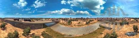el Río Colorado, cerca de Yuma, American Truck Simulator