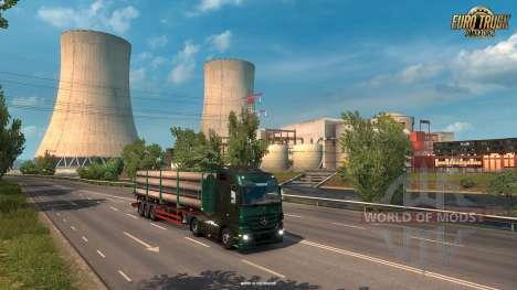 las Nuevas zonas industriales en Francia ETS 2