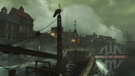 el Principal asentamiento en la medida de Puerto DLC para Fallout 4