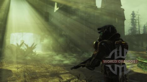 La neblina radioactiva en Fallout 4