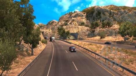 Nueva Ruta 101, en el American Truck Simulator