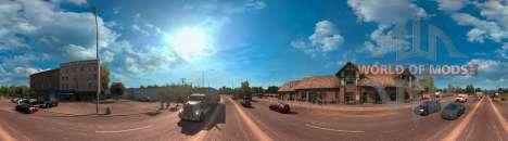 Panorama de Arizona de American Truck Simulator