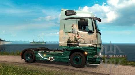 a Través del Océano para Euro Truck Simulator 2