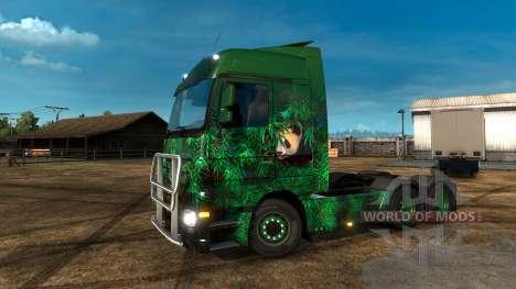 Lucky Panda-piel para Euro Truck Simulator 2