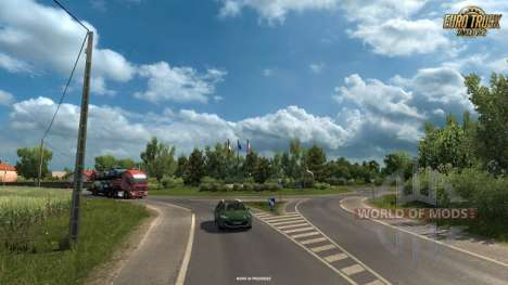 las Nuevas capturas de pantalla de Vive La France DLC para Euro Truck Simulator 2