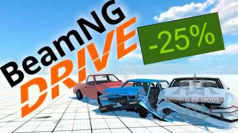 25% de descuento en BeamNG Drive en el Steam