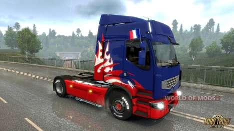 bandera francesa para Euro Truck Simulator 2
