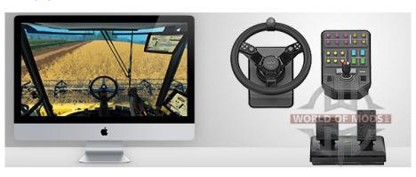 Saitek Rueda para Farming Simulator 2015 Farming Simulator es totalmente compatible con Mac OS X!