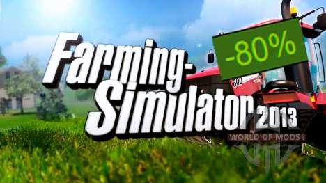 80% de Descuento en Farming Simulator 2013