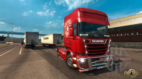 Poderoso Griffin DLC para Euro Truck Simulator 2