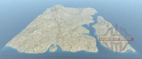 la totalidad de La Italia mapa para BeamNG Drive